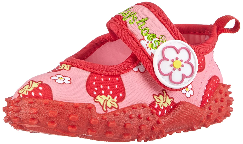 Playshoes Girls UV Protection Aqua Shoe Strawberries, Beach & Pool Shoes Playshoes GmbH 174757