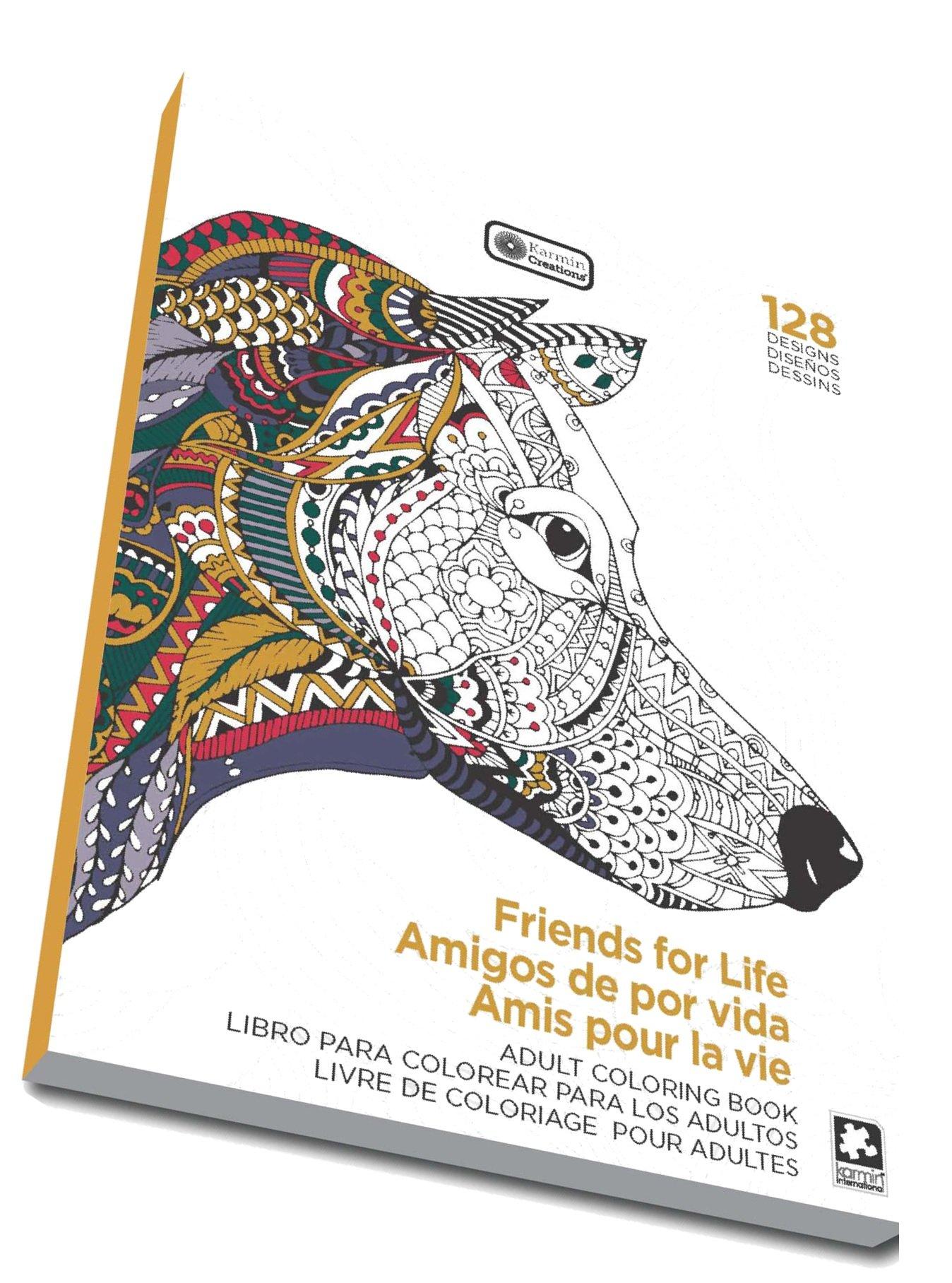 Friends For Life Mandalas Adult Coloring Book 128 Designs