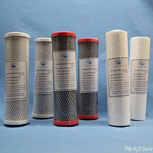 AWI 6 Pack Filters