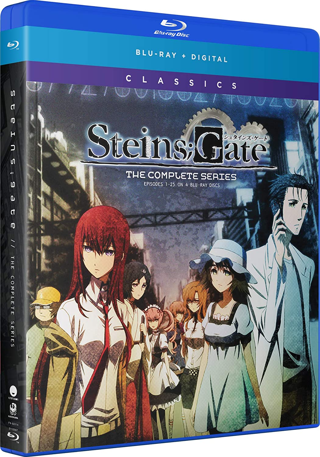 Steins;Gate: Complete Series Classics Blu-ray