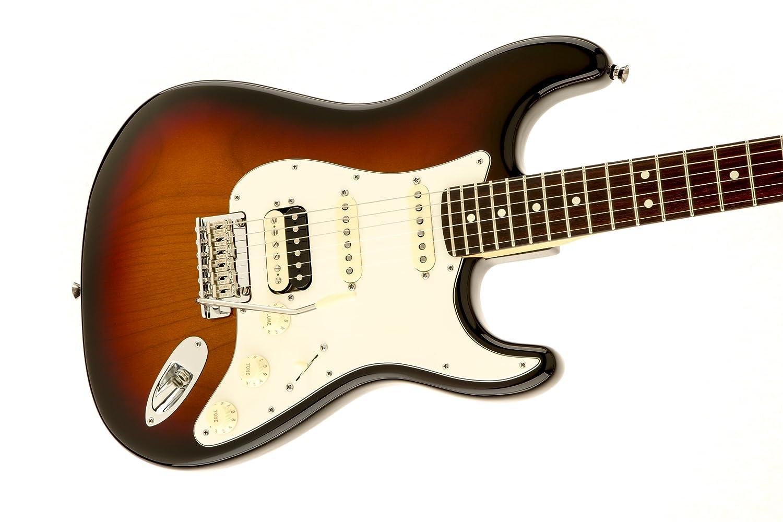 Fender 0113110700 American Standard Stratocaster HSS Shawbucker - Guitarra eléctrica de diapasón de palisandro - Sunburst-P: Amazon.es: Instrumentos ...