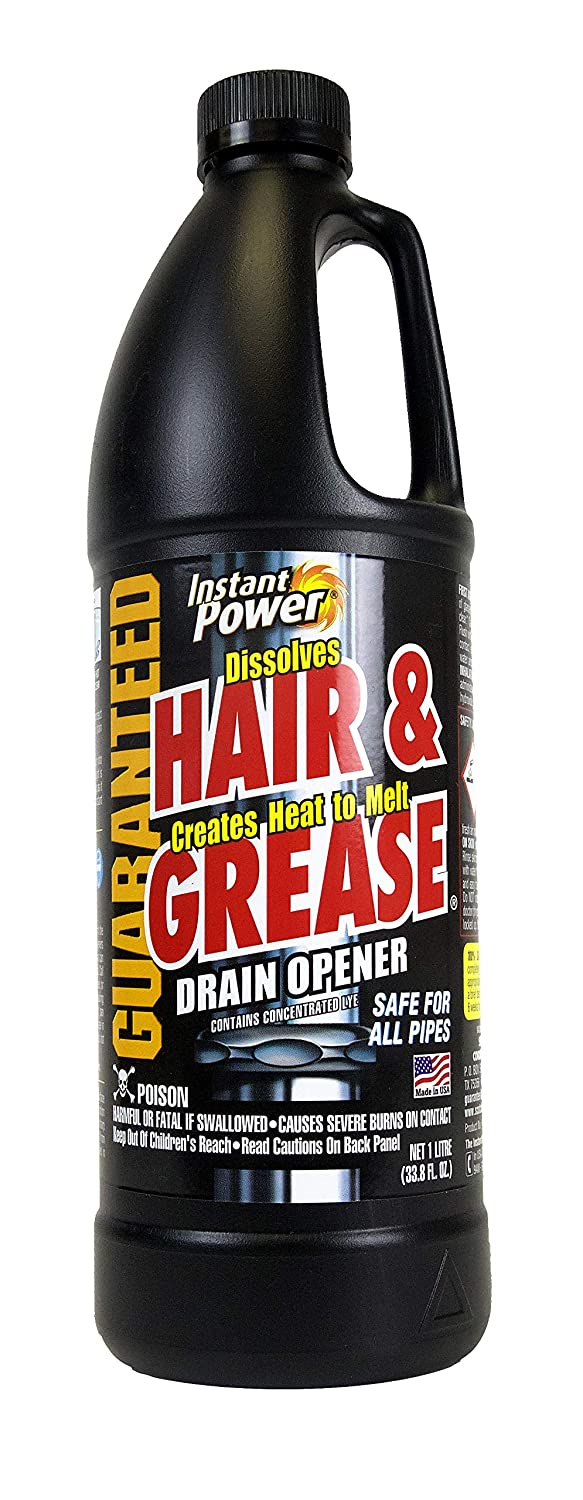 3.Instant Power Hair and Grease Drain Opener