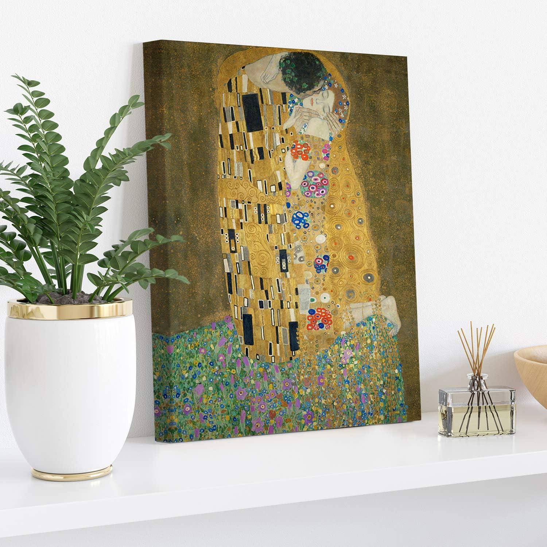 Gustav Klimt Hope II 30x40cm PICANOVA Quadro su Tela Stampa Incorniciata con Spessore di 2cm Altre Dimensioni Disponibili Decorazione Moderna