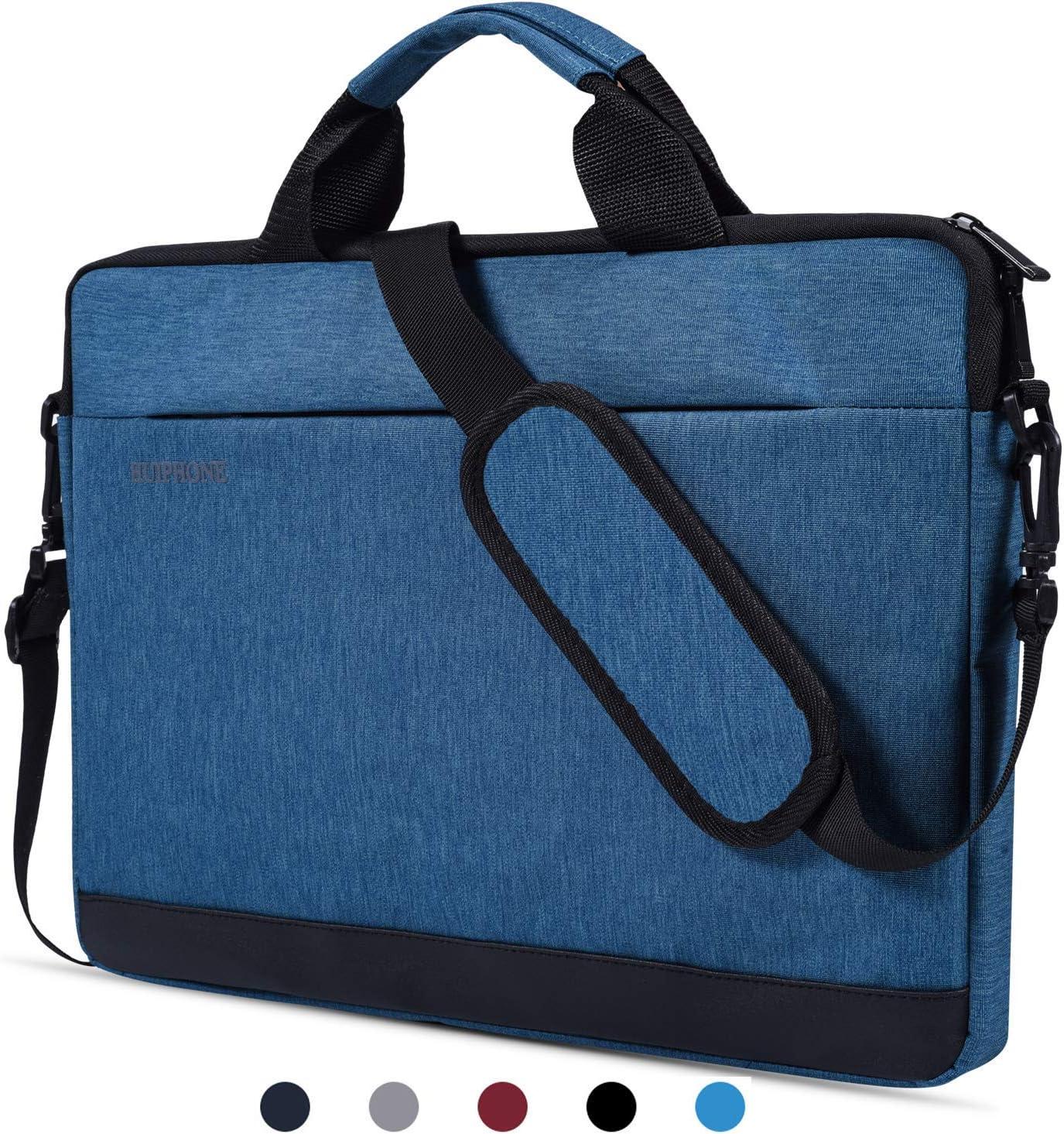 "15.6 Inch Laptop Shoulder Bag Waterproof Laptop Case Sleeve Compatible Acer Aspire E 15/Predator/Chromebook 15,Lenovo Yoga 730 15.6"",Dell Inspiron,ASUS VivoBook,LG Gram 15.6"",MSI HP Notebook Bag,Blue"