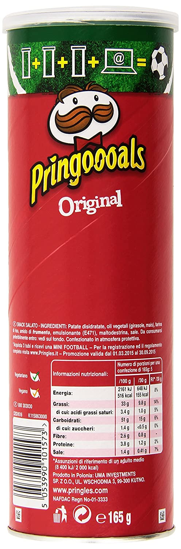 Pringles Original, paquete de 6 (6 x 165 g): Amazon.es: Alimentación y bebidas