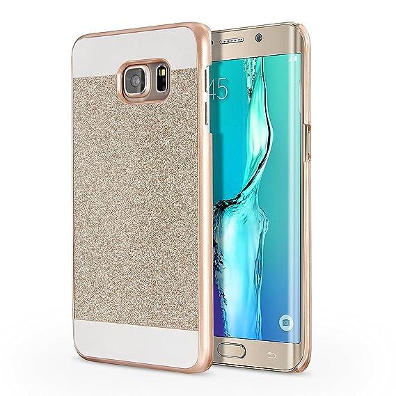 size 40 48c9f 6bafd Galaxy S6 Edge Plus Case, Imikoko™ Luxury Hybrid Crystal Rhinestone Sparkle  Glitter PC Hard Protective Diamond Case for Samsung Galaxy S6 Edge Plus ...