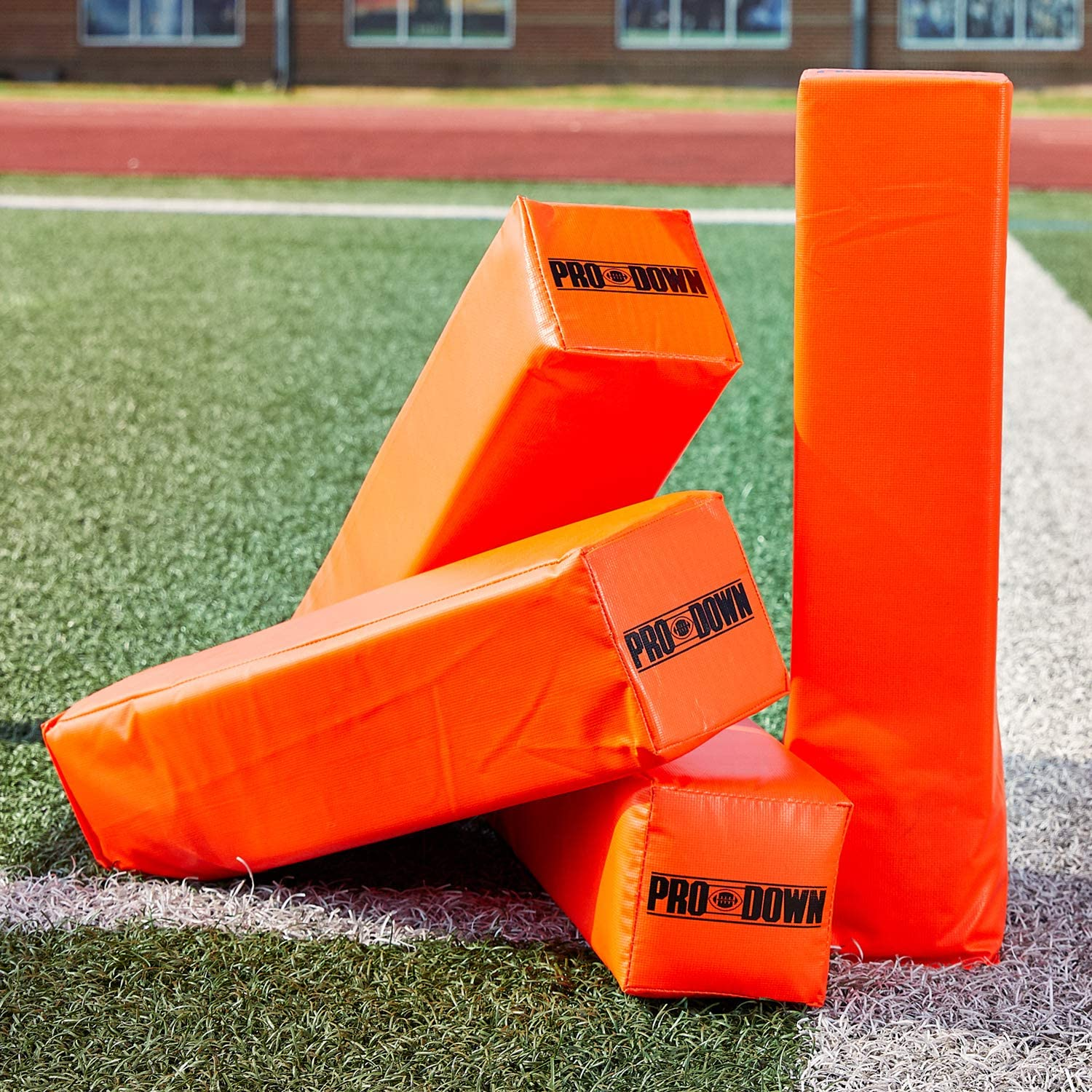 Pro Down Weighted Anchorless Pylon Set : Football Training Aids : Sports & Outdoors