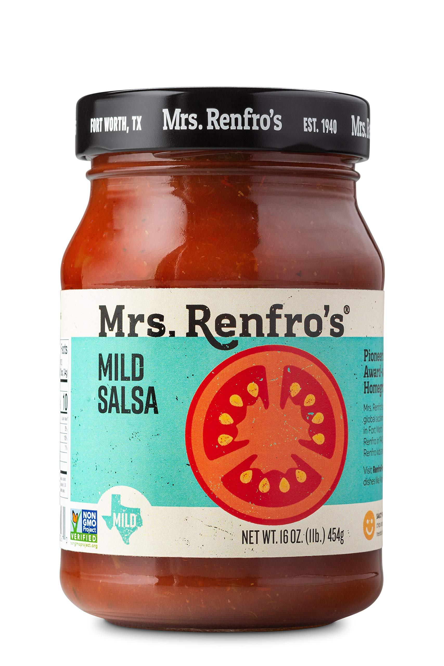 Mrs. Renfro's Mild Salsa, 16 oz (4 Pack) by Mrs. Renfro's