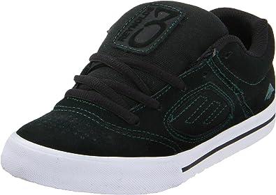 Emerica REYNOLDS 3 Kids 6302000006 Unisex-Kinder Sneaker, Schwarz (Black/Lime), 3.5