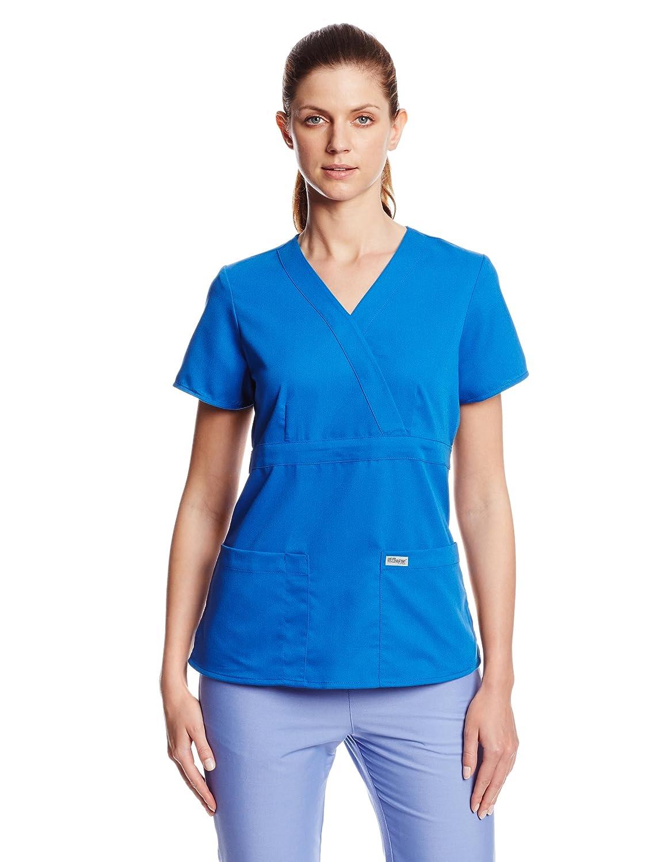 Greys Anatomy Junior Fit Three Pocket Mock Wrap Image 1
