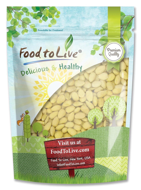 Food to Live Almendras blanqueadas (Kosher) 453 gramos: Amazon.es: Alimentación y bebidas