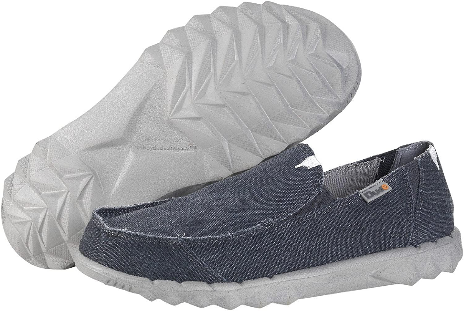 Hey Dude Farty Mens Canvas Lightweight Slip On Casual Shoes