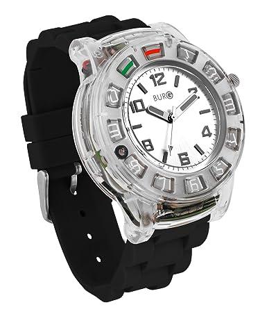 BURG Neon 14 Smartwatch Phone with SIM Card - Black (WP14102)