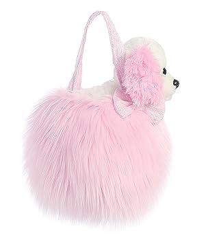 836c4b047503 Aurora World 8-Inch Fancy Pal Cocker Spaniel Plush Toy in Bag (Pink)