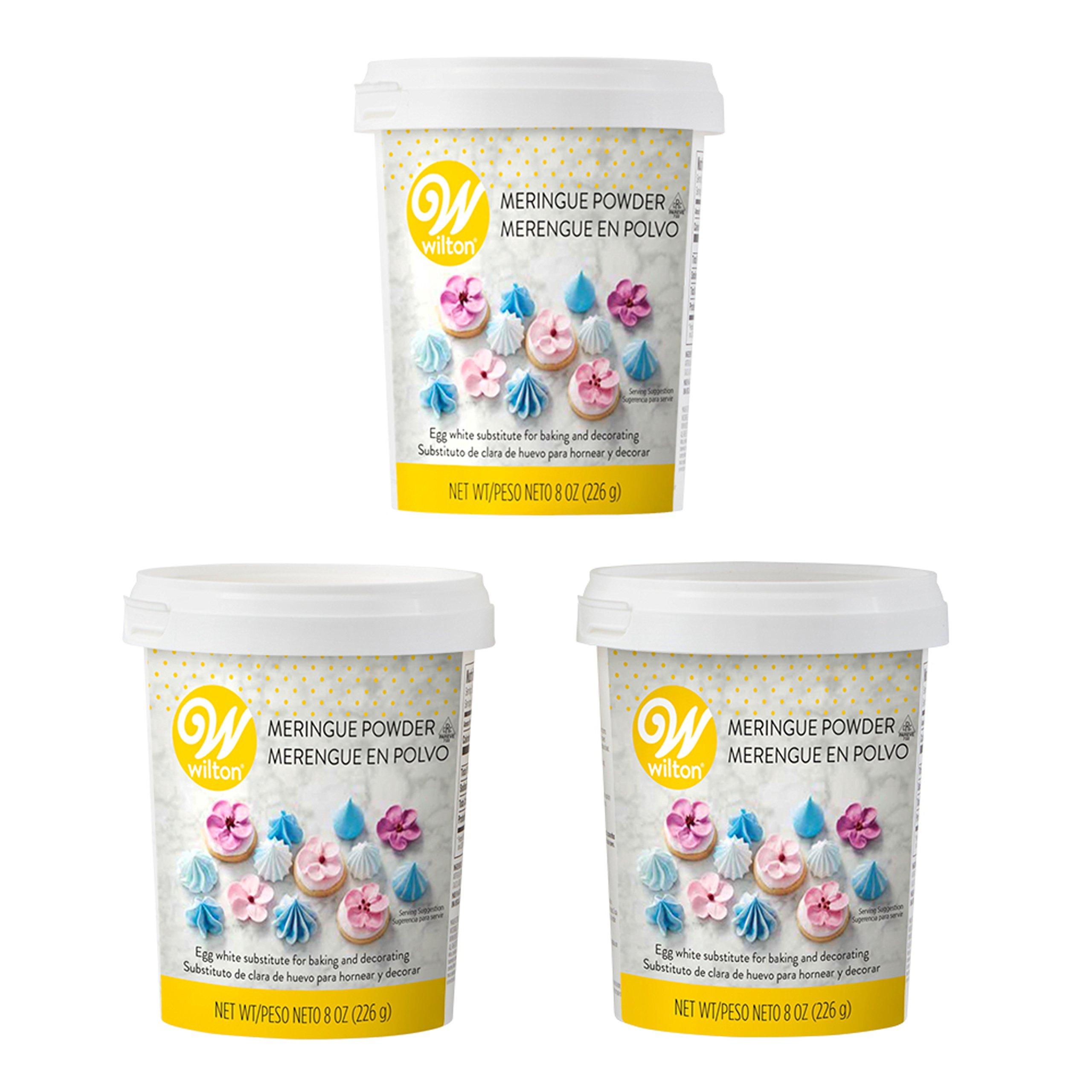 Wilton 8 oz. Meringue Powder, Multipack of 3