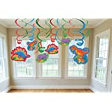 Dinosaur Party Hanging Decorations