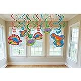 Amscan Prehistoric Party Swirls Decorations