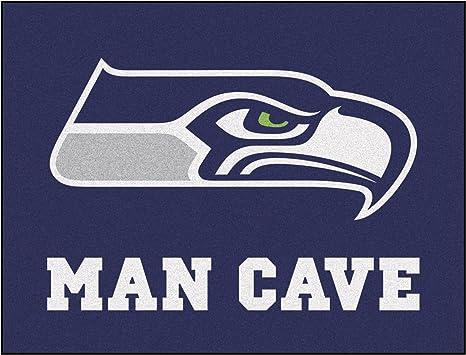 FANMATS 14369 NFL Seattle Seahawks Nylon Universal Man Cave Starter Rug