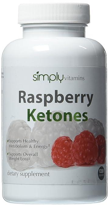 Amazon.com: Simplemente Vitaminas Frambuesa Ketones 100 mg ...