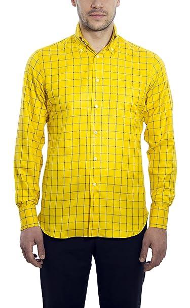 Dan Roma - Camisa Formal - para Hombre  Amazon.es  Ropa y accesorios eeac65ef87c01