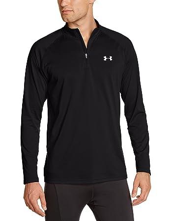 Under Armour Men's Tech 1/4 Zip Long Sleeve T-Shirt: Amazon.co.uk ...