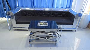 NauticalMart Industrial Scissor Lift Table