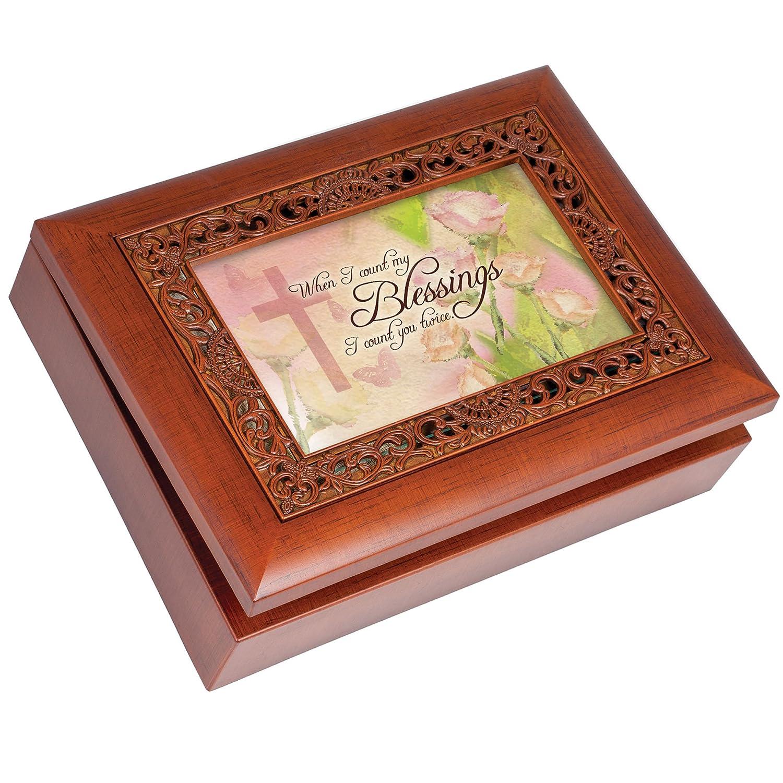 最新最全の 音楽ボックス – カウントMy B0065OI0DE Blessings Art Plays Blessings How Great Thou Art With装飾木目仕上げ B0065OI0DE, LEDのマゴイチヤ:2e4c25ca --- arcego.dominiotemporario.com