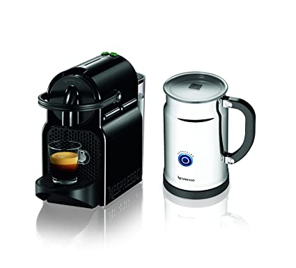 Nespresso Inissia Espresso Maker with Aeroccino Plus Milk Frother