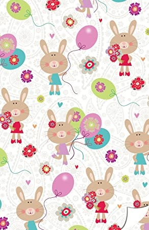 Gift wrap in a cute bunny theme for a little girl including gift gift wrap in a cute bunny theme for a little girl including gift tags negle Image collections