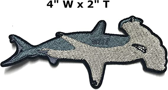 patch SHARK HAMMERHEAD patches sharks applications shark stickers iron-on patches little shark patch pictures sharks shirt shark pic viilou