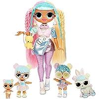LOL Surprise OMG Bon Bon Family with 45+ Surprises Including Candylicious OMG Doll, Bon Bon, Bling Bon Bon, Lil Bon Bon…