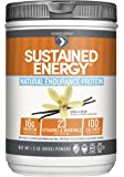 Designer Protein Sustained Energy Natural Endurance Protein , Vanilla Bean, 1.5 Pound