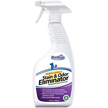 Amazon Com Petseer Pet Odor Eliminator And Stain Remover