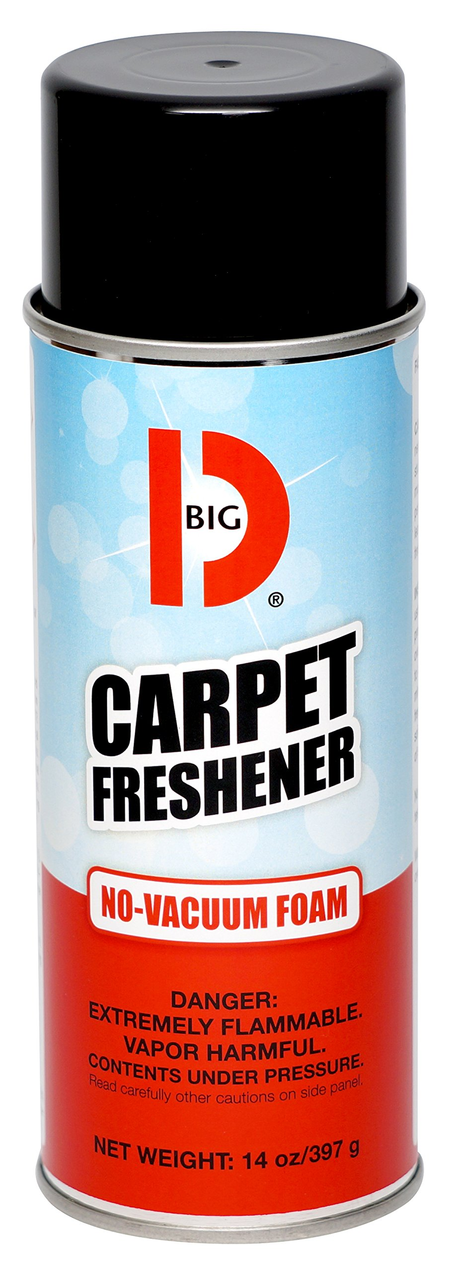 Big D 241 Carpet Freshener No-Vacuum Foam, 14 oz (Pack of 12) - Foam magically disappears - Eliminates odors trapped in carpet fibers - Use for pet odors, tobacco, food, stale, musty odors