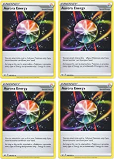 product image for Pokemon Card - Aurora Energy - Sword and Shield Base - x4 Card Lot Playset - 186/202 Uncommon