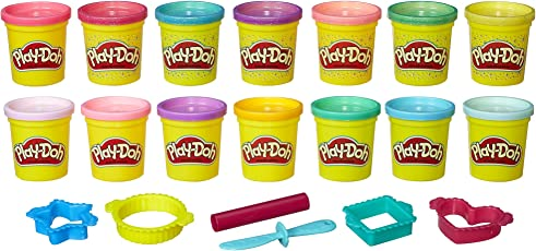 Play Doh Sparkle & Bright–Pack de Color (Amazon Exclusivo)
