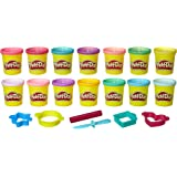 Play-Doh Sparkle and Bright 14 Pack of Cans, Non-Toxic Modeling Compound, 3-Ounce Cans