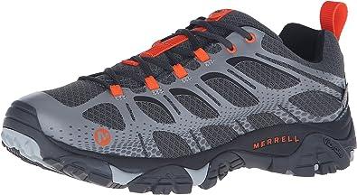 Merrell Moab Edge Waterproof, Zapatillas de Senderismo para Hombre, Gris, 41.5 EU: Amazon.es: Zapatos y complementos