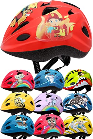SkullCap® Casco de Bicicleta para niños diseñado por Profesionales – Casco de Bicicleta para niños, Niños, Color Bombero, tamaño S (48-52 cm): Amazon.es: Deportes y aire libre