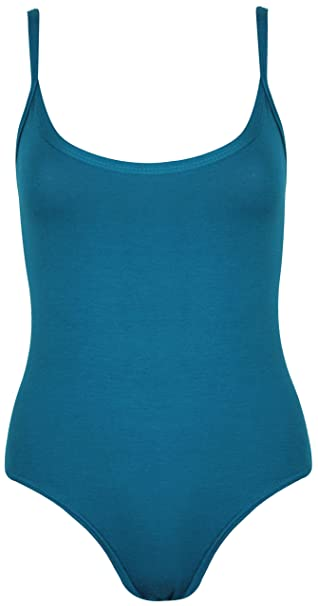 Damen Schlicht Schmal Riemchen Ärmellos Damen Stretch Rund U-ausschnitt  Stecker Druckknopfverschluss Unterhemd Body Weste Body Top: Amazon.de:  Bekleidung