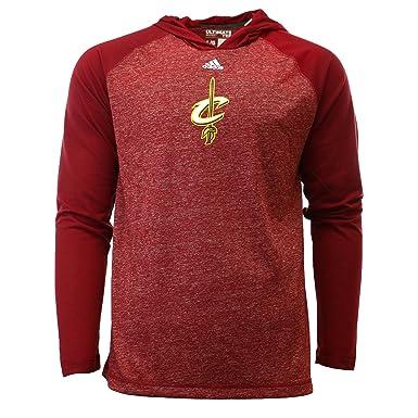 """3ea0d8b8ee6b Cleveland Cavaliers Adidas NBA """"Fade Away"""" Hooded L/S Tshirt ..."""