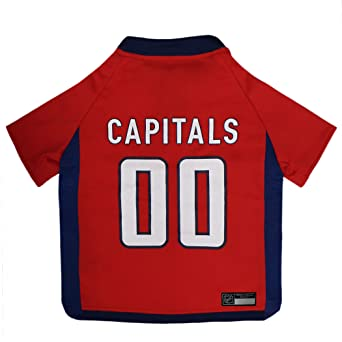 check out bb212 e4e48 NHL Washington Capitals Jersey for Dogs & Cats, Medium. - Let Your Pet be a  Real NHL Fan!