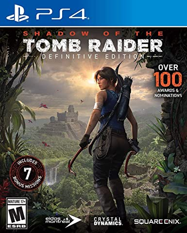 Amazon Com Shadow Of The Tomb Raider Definitive Edition