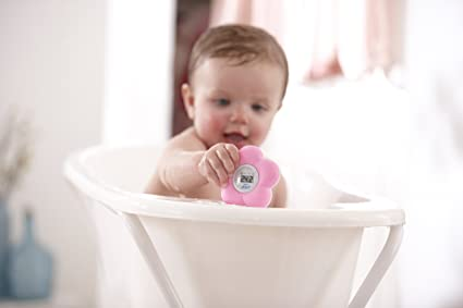 Amazon.com : Philips Avent Sch550/21 Bath And Room Thermometer Pink : Baby
