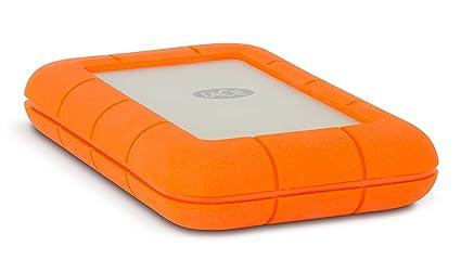LaCie Rugged 2TB Thunderbolt and USB 3.0 Portable Hard Drive (LAC9000489)