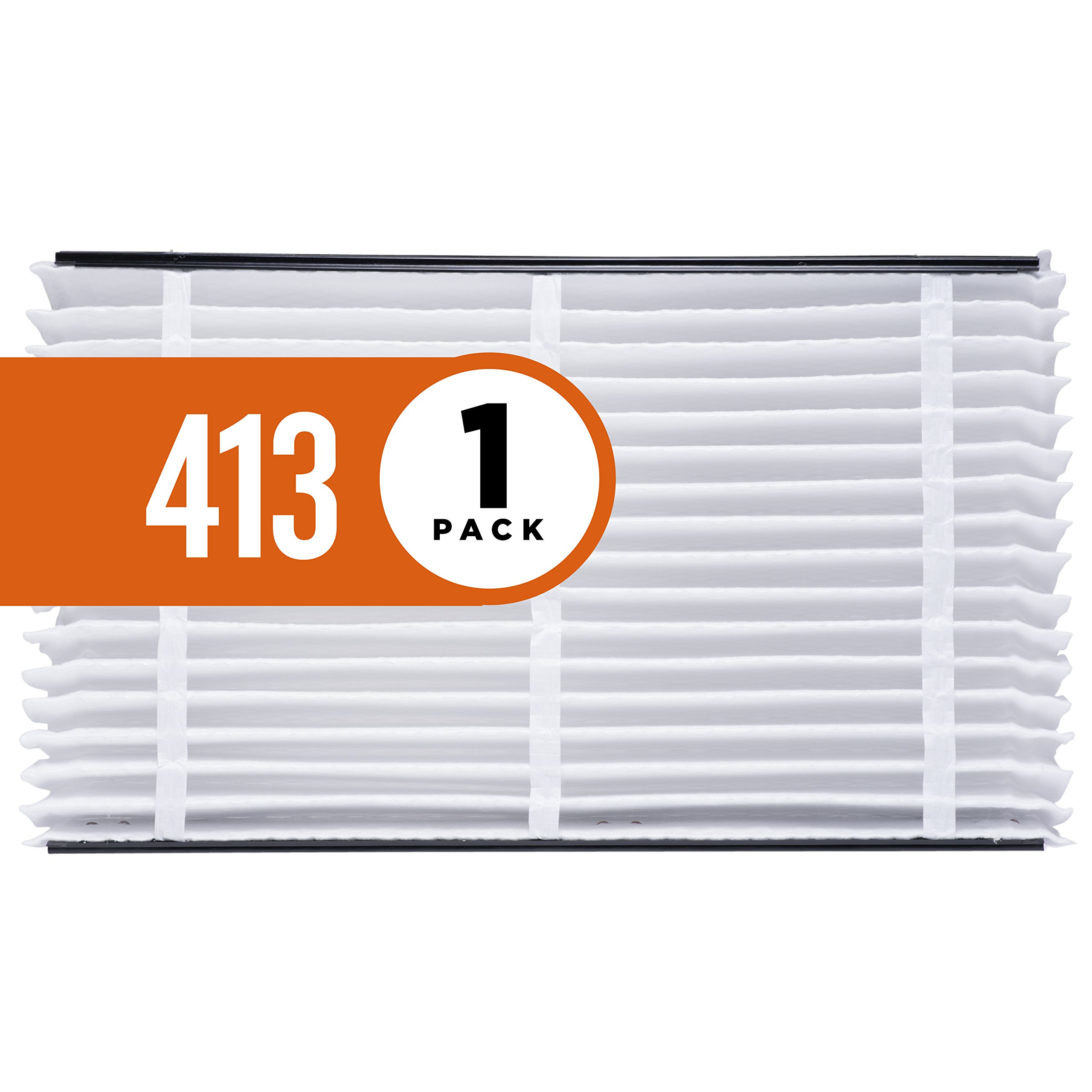 Aprilaire 413 Air Filter for Aprilaire Whole Home Air Purifiers, MERV 13 (Pack of 1)