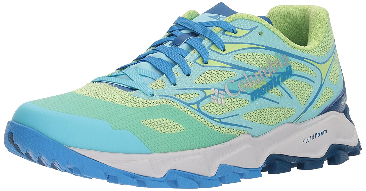 Columbia Montrail Women's Trans Alps F.K.T. II Trail Running Shoe B072WKR17Z 10 B(M) US|Jade Lime, Splash