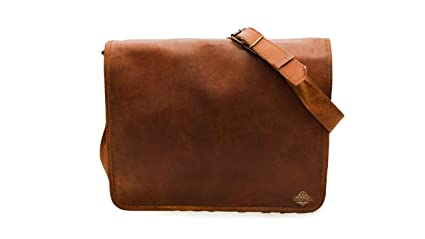 da8e6812f151 Image Unavailable. Image not available for. Color  New Year Gift By  Indiartvilla Leather Vintage Mens 16 Inch Leather Laptop Messenger Pro  Satchel Men s