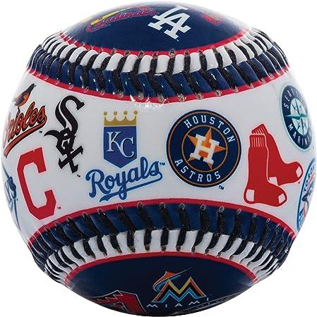 Bola de beisebol Franklin Sports 30 Club – Soft Strike – Bola com logotipo 30 Club (Todas as equipes) – Soft Core – Produto licenciado oficial da MLB