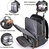 Diaper Bag Backpack,Maternity Nappy Bag with USB